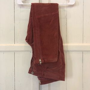 Free People High Rise Twill Jeans Size 31